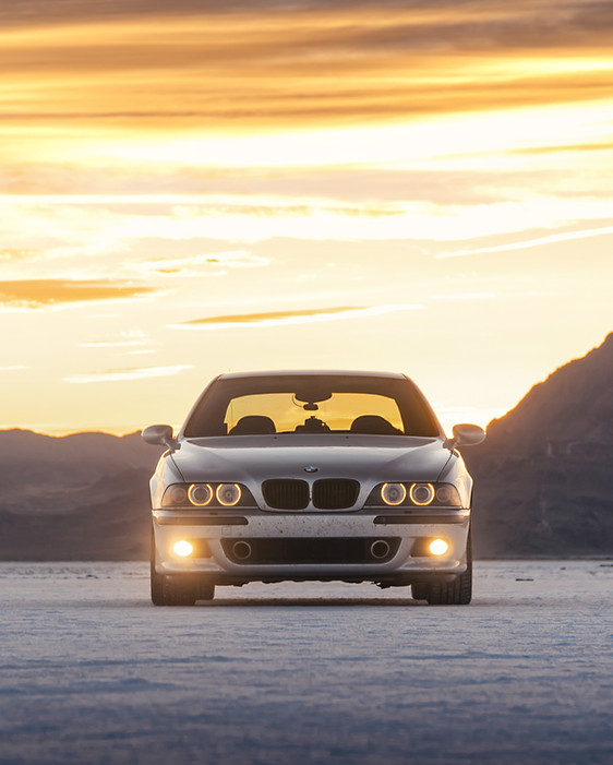 BMW M5 - Dustball Rally - Sante Fe to San Fransisco