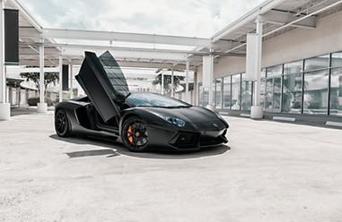 Lamborghini Aventador - Strasse Wheels