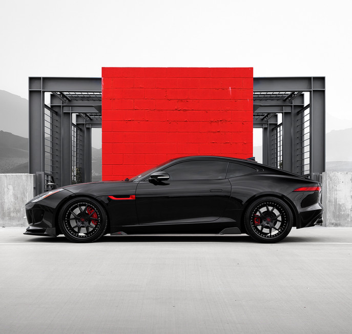 Jaguar F Type R - Strasse Wheels