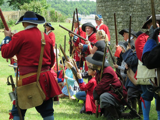 How is re-enactment a family hobby?