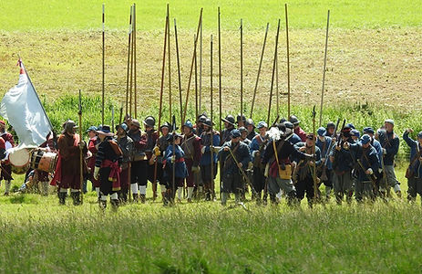 The regiment in the field