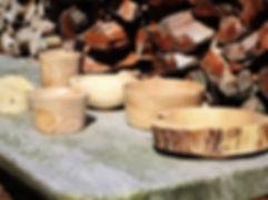 Eksempler på træarbejde af Jacob Lund