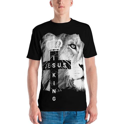 Jesus Is King  All-Over Print Men's T-shirt