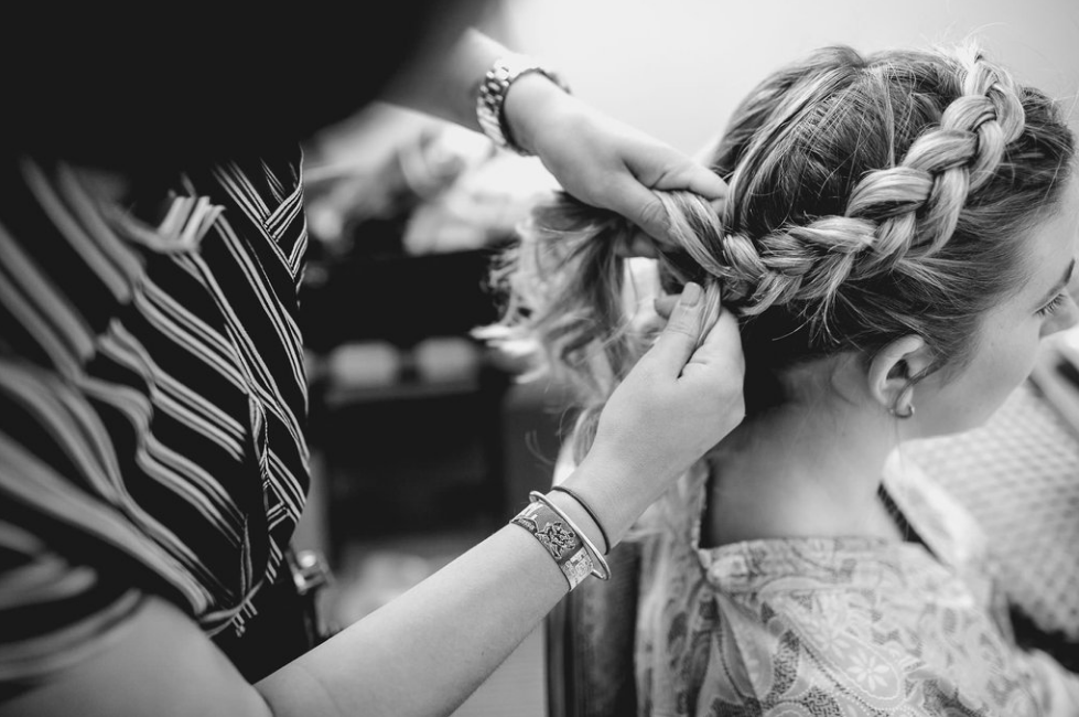 Wedding Hair - Belle & Bride