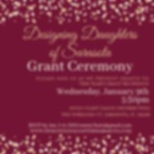 Designing Daughters Grant Ceremony 2018.