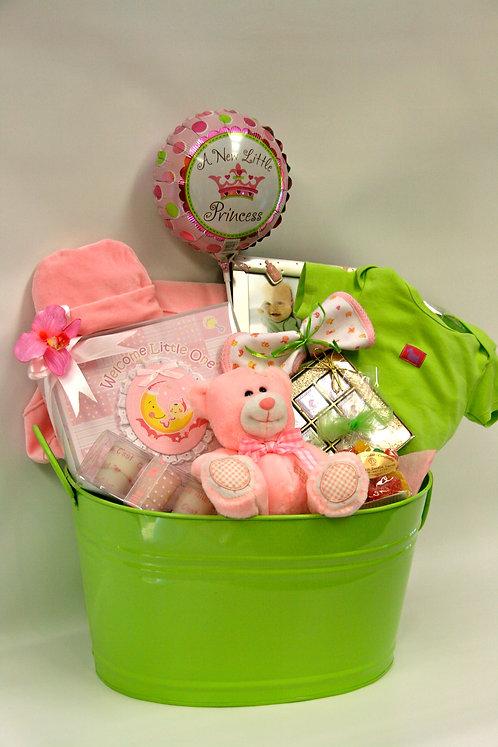 Baby Girl Bucket