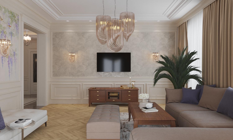 гостиная классическая