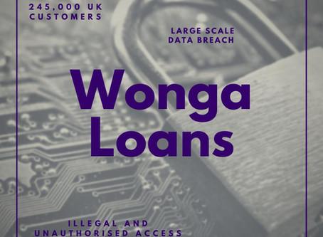Wonga Loans Data Breach