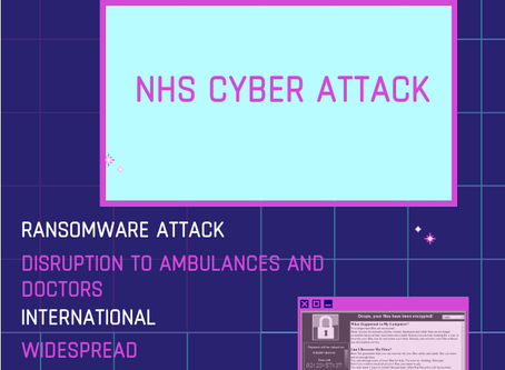 NHS Ransomware Attack
