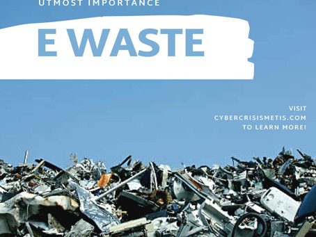 Disposing of E-waste Safely and Sustainably