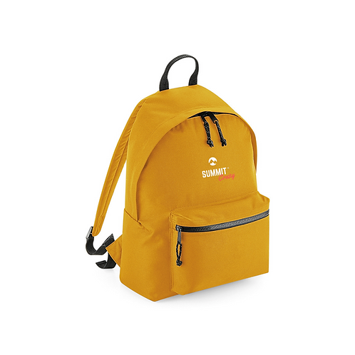Recycled Backpack - Mustard