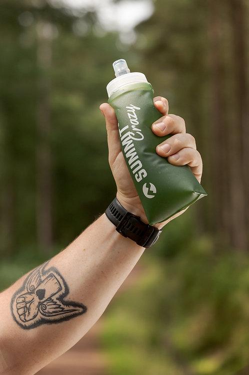 Summit Crazy Wide Neck 500ml Soft Flask - Green