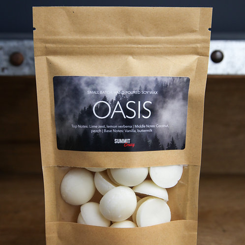 Summit Crazy Wax Melts - Oasis