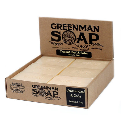 Greenman Soap 100g - Coconut Cool & Calm