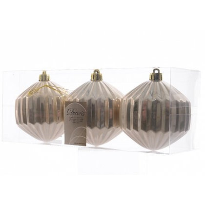 Pack of 3 baubles
