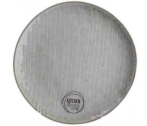 Stoneware Distressed Plate (20cm)
