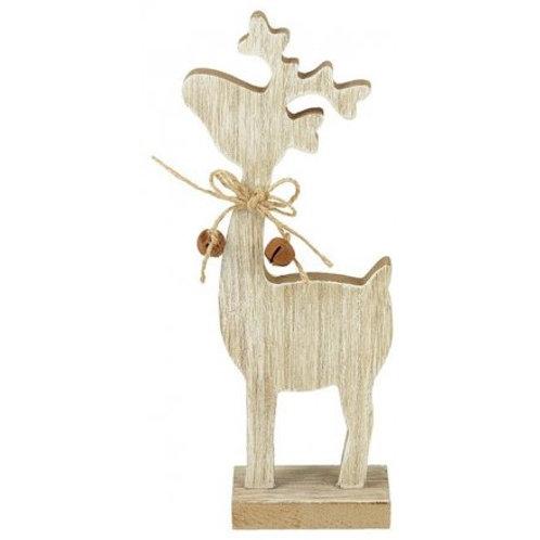 Wooden Reindeer Block