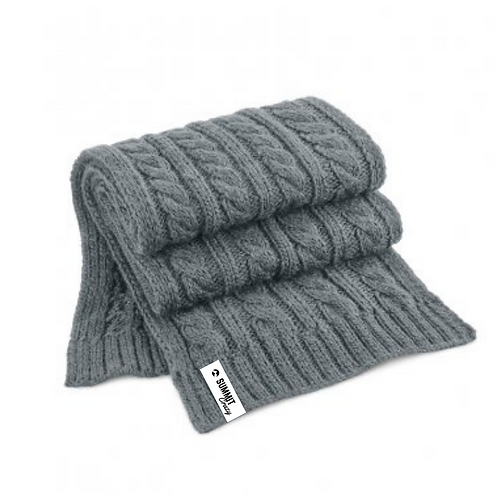 Cable Knit Scarf - range of colours