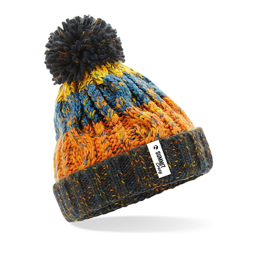 Infant's Valley Pom Pom - Orange