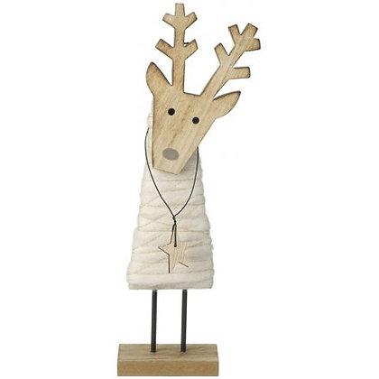 Wood & Wool Deer