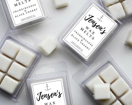 Jensen's Frankincense & Black Cherry Wax Melts