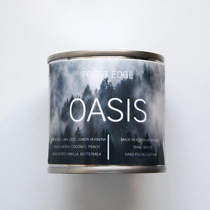 Forêt Edge Mini Tin Candle - Oasis