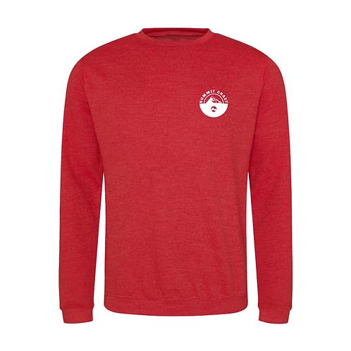 Summit Sweatshirt - Heather Red