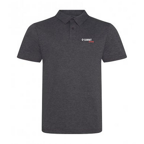 Summit Polo -Charcoal