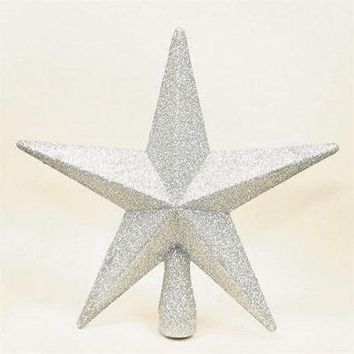 Shatterproof Glitter Tree Topper
