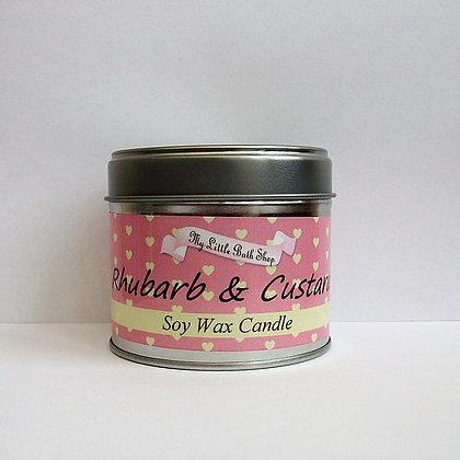 The Little Bath Shop Tin Candle - range of fragrances