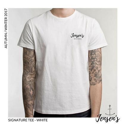 Jensen's Signature Tee -  White