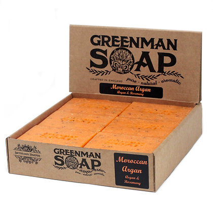 Greenman Soap 100g - Moroccan Argan