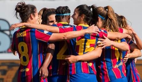 Women's Champions League, Barcellona - Manchester City 3-0