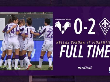 Serie A Femminile, Verona - Fiorentina 0-2