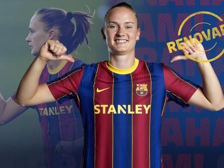 Calciomercato Femminile: Graham Hansen rinnova con il Barcellona