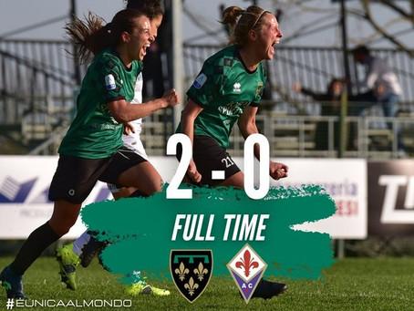 Florentia - Fiorentina 2-0: l'analisi del match