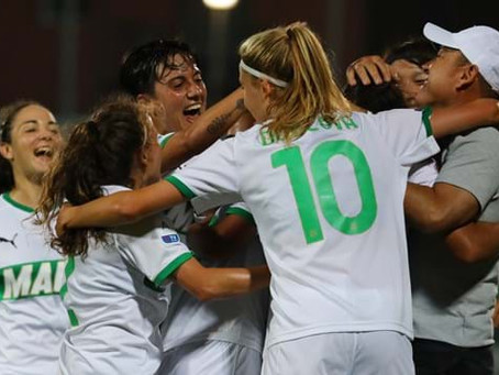 Sassuolo Women: Gianpiero Piovani vince la panchina d'oro