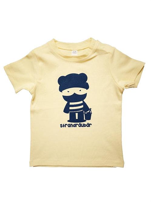 """Baby T-Shirt """"Strandräubär"""""""