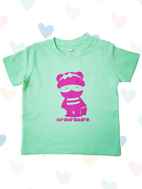 """Baby T-Shirt """"Strandräubärin"""""""