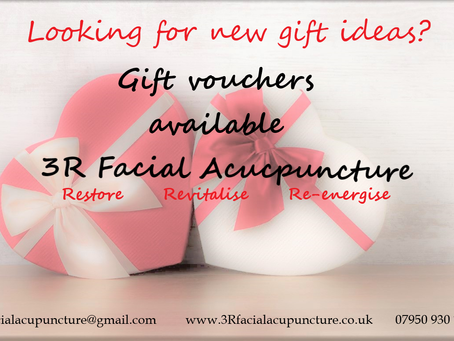 Facial Acupuncture Gift Vouchers