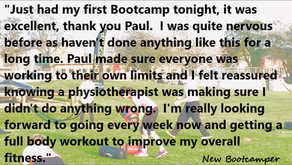 Unsure about joining our BOOTCAMP sessions?