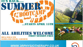 Summer Boot Camp starts tonight!
