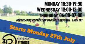 Summer Bootcamps @3RPhysiotherapy