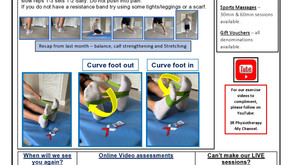 3RPhysio News July 2020 - Focus - Lateral Ankle Pain