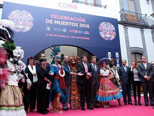 Oaxaca, Michoacán y Aguascalientes se suman al Desfile de Día de Muertos en CDMX