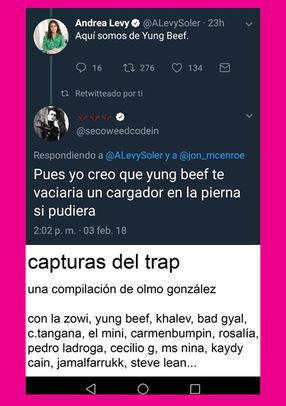 Capturas del Trap de Olmo González