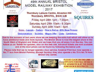 Bristol Model Railway Exhibition 2017