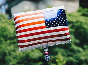 Pallone bandiera USA