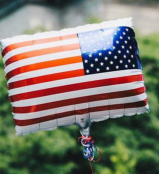 US Flag Balloon