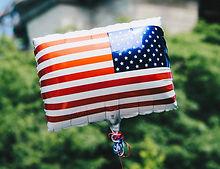 Balão da bandeira dos EUA